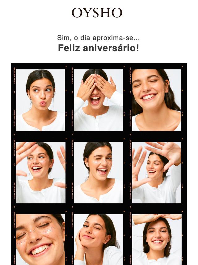 Código Promocional Aniversário Oysho